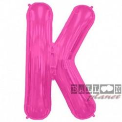 Pallone Lettera K Fucsia 90 cm
