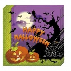 20 Tovaglioli Spooky 33x33 cm