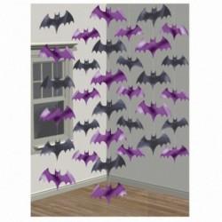 6 Pendenti Pipistrelli 220 cm