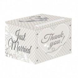 Card Box Just Married 30x30x25