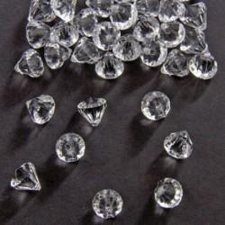 Diamanti Brillanti Plastica 12 mm
