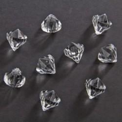 Diamanti Brillanti Plastica 20 mm