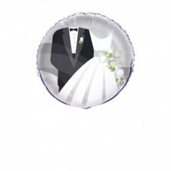 Pallone foil Matrimonio 45 cm