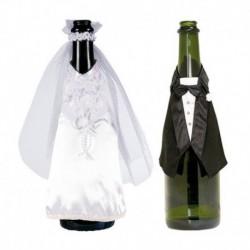 Set Abiti Sposi per Bottiglia Spumante