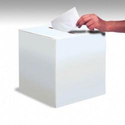 Card box bianca 30x30 cm