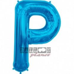 Pallone Lettera P Blu 90 cm