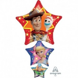 Pallone Toy Story 65x105 cm