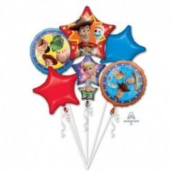 5 Palloni Bouquet Toy Story