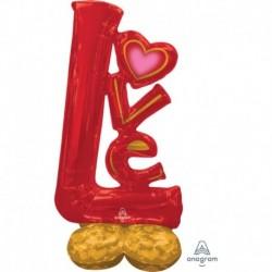 Pallone AirLoonz Love 70x150 cm
