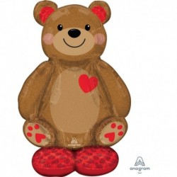 Pallone AirLoonz Teddy 90x120 cm
