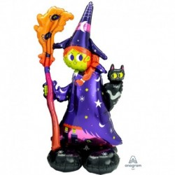Pallone AirLoonz Scary Witch 60x140 cm