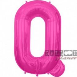Pallone Lettera Q Fucsia 90 cm