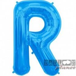 Pallone Lettera R Blu 90 cm