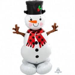 Pallone AirLoonz Snowman 90x140 cm