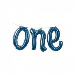 Palloni Festone One Blu 152x30 cm