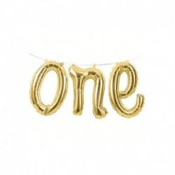 Palloni Festone One Oro 152x30 cm