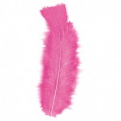 50 Piume Rosa 10 cm