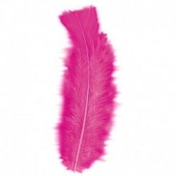 50 Piume Fucsia 10 cm