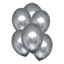 Palloncini Satin Luxe Platino 28 cm