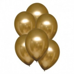 Palloncini Satin Luxe Oro 28 cm