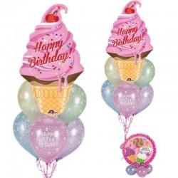 Composizione Dolce Happy Birthday
