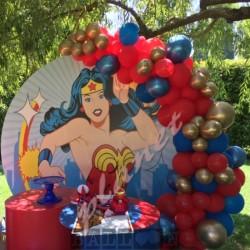 Decorazione Wonder Woman Organico