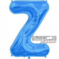 Pallone Lettera Z Blu 90 cm