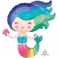 Pallone Colourful Mermaid 75 cm