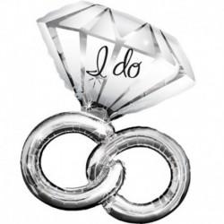 Pallone Wedding Rings 75 cm