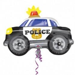 Pallone Auto Polizia 60 cm