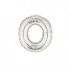 Pallone Numero 0 Argento 20 cm