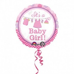 Pallone Shower With Love Girl 45 cm