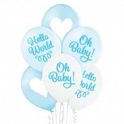 Palloncini Baby Boy 30 cm