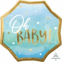 Pallone Blue Baby Baby Boy 55 cm