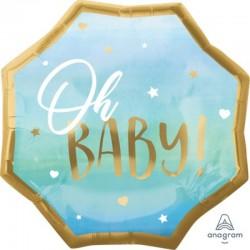 Pallone Blue Baby Baby Boy 45 cm