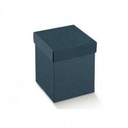 Scatola Quadrata Blu