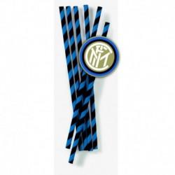 12 Cannucce Carta Inter
