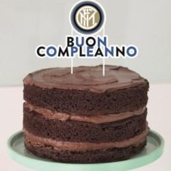 Deco Torta Inter 17x18 cm