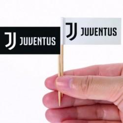 12 Picks Cocktail Juventus 6 cm