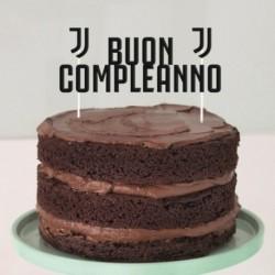Deco Torta Juventus 17x18 cm