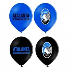 12 Palloncini Lattice Atalanta 30 cm