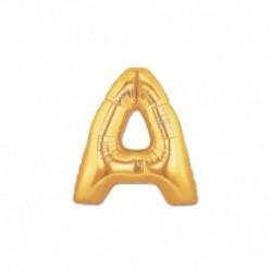 Pallone Lettera A Oro 20 cm