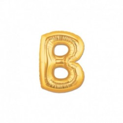 Pallone Lettera B Oro 20 cm