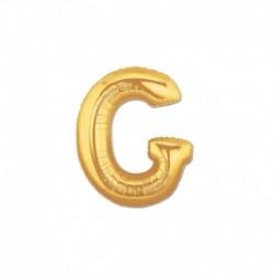 Pallone Lettera G Oro 20 cm