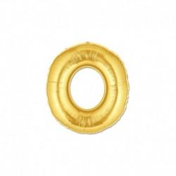 Pallone Lettera O Oro 20 cm
