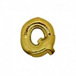 Pallone Lettera Q Oro 20 cm