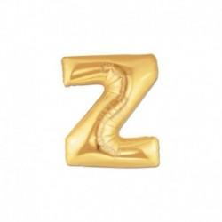 Pallone Lettera Z Oro 20 cm
