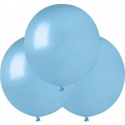 Palloncini Metallic Azzurro 40 cm