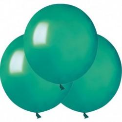 Palloncini Metallic Verde Tiffany 40 cm