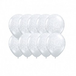 Palloncini Damascati 12 cm